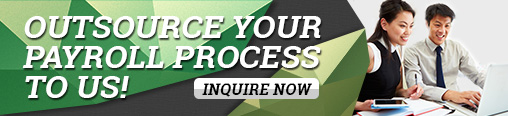 Outsource your payroll process to us - INQUIRE NOW