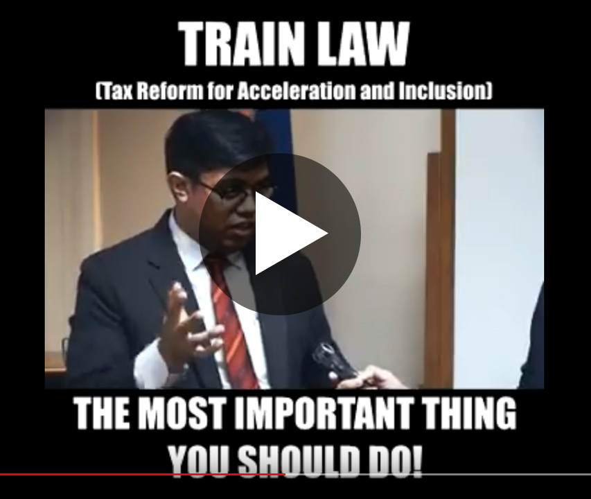 train law series the most important thing you should do