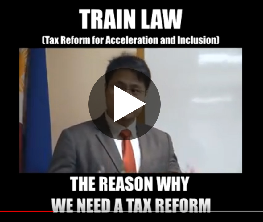 train law series the reason why we need a tax reform